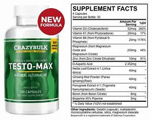 Testo Max Review  2020   Best Cutting And Bulking Test Booster