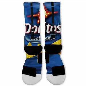 Doritos Cool Ranch Custom Nike Elite Socks