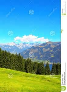 Austria Alps Mountain Map