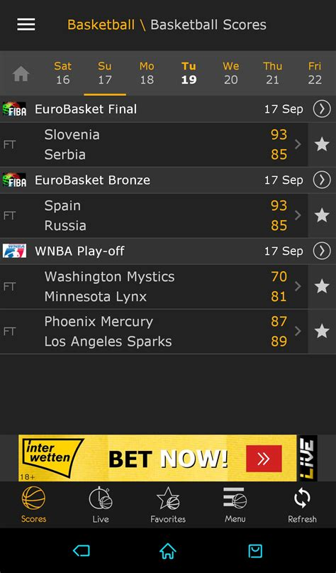 LiveScore 4.3.1 - Download for Android APK Free