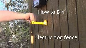 How to make electric dog fence cheap youtube for Electric dog fence installation cost