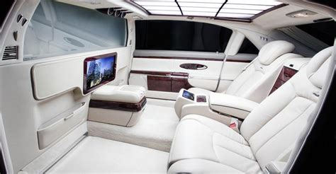 Maybach Luxury Car Interior