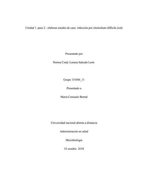 Infección por Clostridium difficile (ICD) by nlorena.salcedo - Issuu