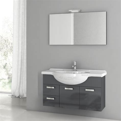 Complete Bathroom Vanities by Multi Finish Complete Vanity Set Contemporary Bathroom