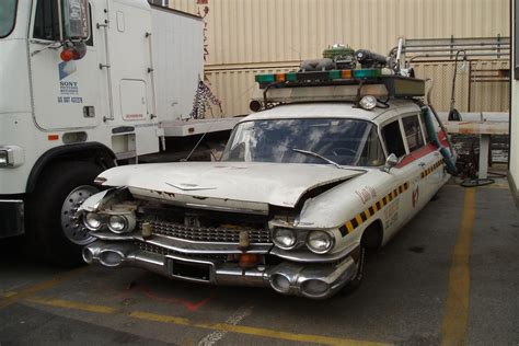 Fans rally to restore Ghostbusters' ECTO-1A Cadillac ...
