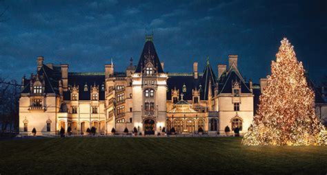the biltmore estate christmas 30 most romantic small towns for the holidays top value