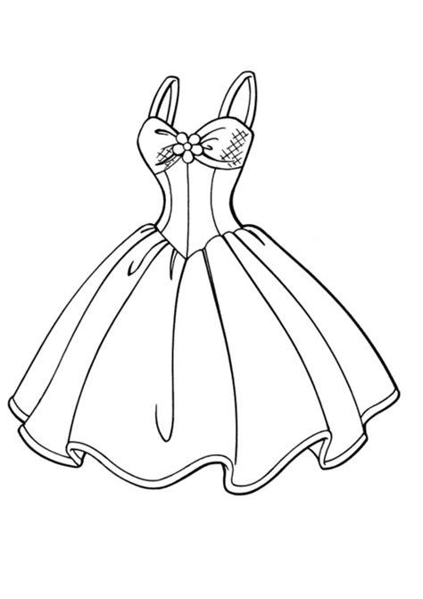dibujos de vestidos  colorear colorear imagenes