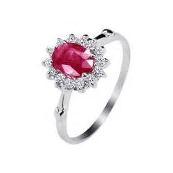 ruby engagement ring ruby ring ruby ring in silver