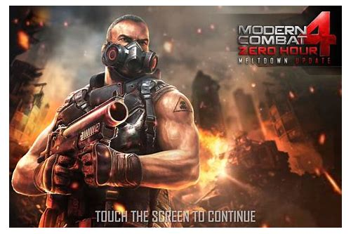 download modern combat 4 apk full version