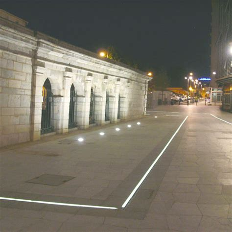 caniveaux urbains 224 233 clairage led int 233 gr 233 aco chemins lumineux aco
