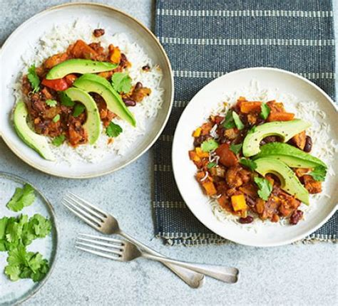 vegan chilli recipe bbc good food