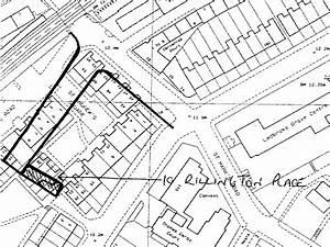 10 Rillington Place Laid On Old Map