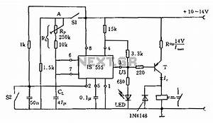 timer circuit page 2 meter counter circuits nextgr With touch switch circuit 555 articlequot 555 timer circuits analog circuits