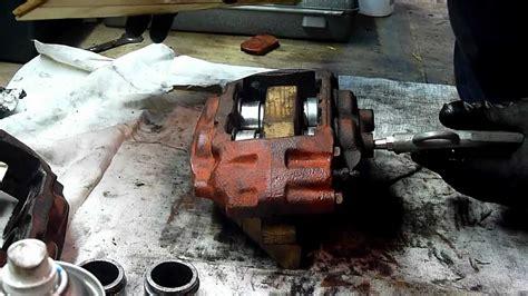 refection etrier de frein refection etrier avant 200sx rebuild front caliber 200sx part 1