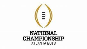 2018 College Football Playoff National Championship ...
