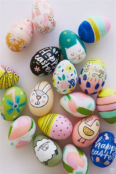 Decorating Ideas For Easter Eggs by 2018 Easter Egg Decorating Ideas From Designers And