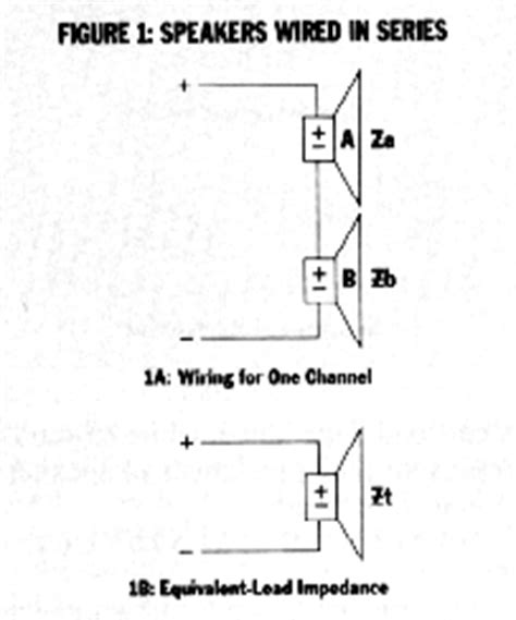 How Car Stereo Series Parallel Wiring