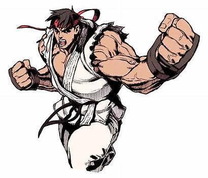 Fighter Ryu Street Revival Ii Transparent Edayan