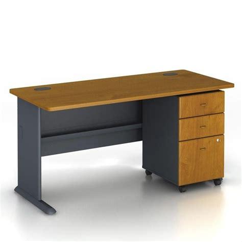 bush series a desk bush business series a 60 quot computer desk and file cabinet