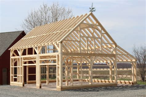 20 Carriage Barn Bethel Ct 3d Timber Frame 22