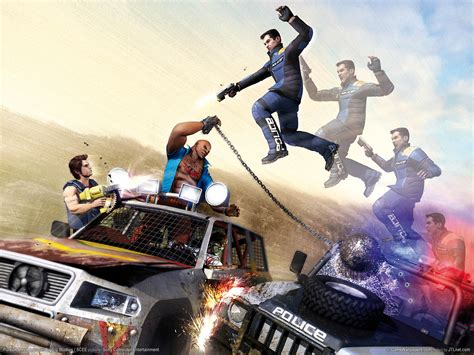 car jumping pursuit force wallpaper