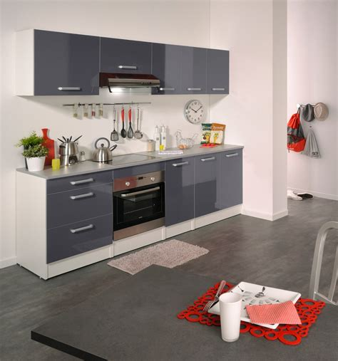 meubles cuisine blanc meuble de cuisine contemporain pour four 60 cm blanc gris