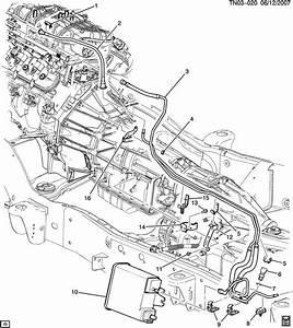 Hummer H2 Hose  Fuel Line  Hose  Fuel Feed  U0026 Evap Emis