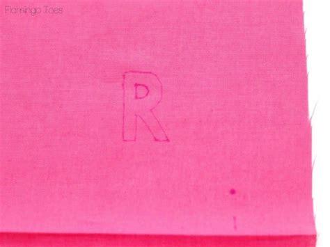 monogram zipper pouch    school