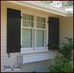 Board and Batten Window Shutters Exterior