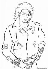 Coloring Celebrity Jackson Pages Michael Printable sketch template