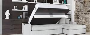 Lit Canapé Ikea : lit armoire escamotable ikea sofag ~ Teatrodelosmanantiales.com Idées de Décoration
