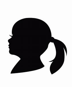 Woman Face Silhouette | Vector Face Silhouette | Ideas for ...