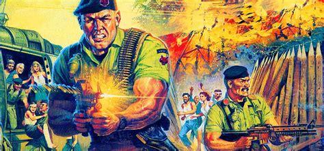 Un realismo extraordinario para un juego de guerra. Los mejores juegos de guerra retro - Commando, Cabal ...