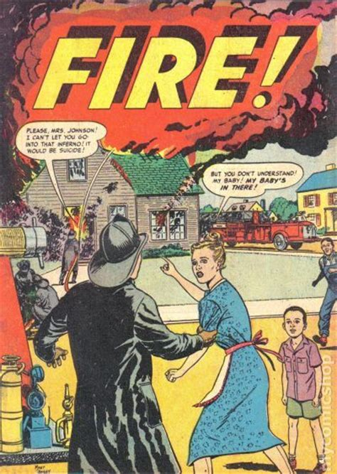 fire  fire safety comic books