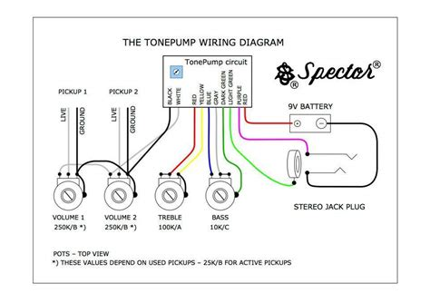 Up Wiring Diagram Active by Spector 174 Owners Club Page 996 Talkbass