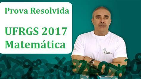 télécharger prova portugues ufrgs 2015 resolvida