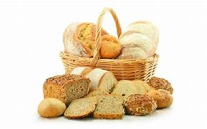 4k, Basket, With, Bread, Wallpapers, High, Quality