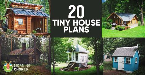 diy tiny house plans      small