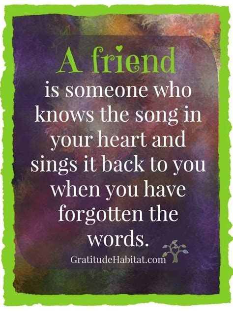 true friend   song   heart great quotes
