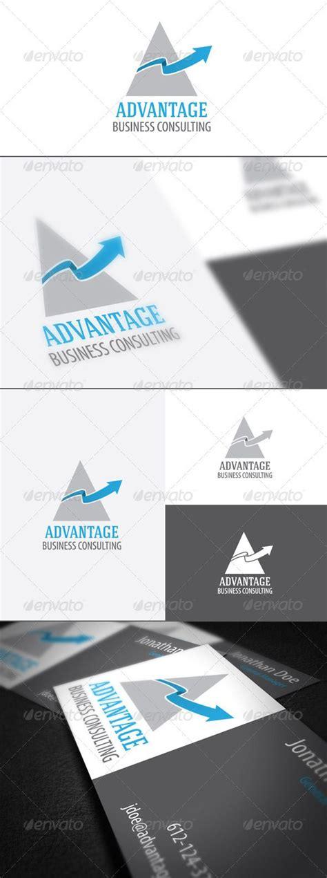 advantage  images business cards layout logo