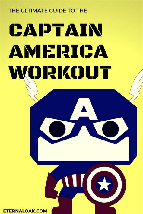 The Ultimate Guide to the Captain America Workout ...