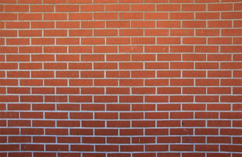 Clean Brick Texture Pattern Red Large Resolution Wallpaper