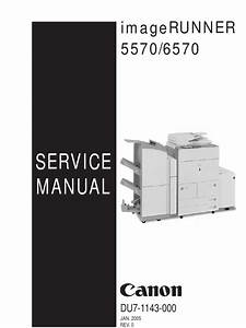Service Manual  Imagerunner 5570  6570