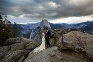 Glacier Point Yosemite National Park Wedding