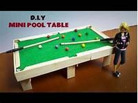 how to make a pool table DIY Kid Toys - How To Make Mini Pool ( Billiard ) Table. - YouTube