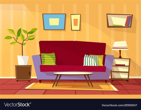 De Living Room Knokke by Living Room Apartment Interior Royalty Free Vector