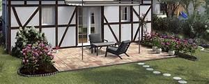 Beeteinfassung Granit Anleitung : terrasse bauen gestalten obi gartenplaner ~ Markanthonyermac.com Haus und Dekorationen