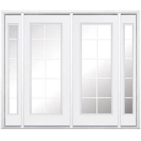 masonite patio doors home depot masonite 96 in x 96 in prehung right inswing 10