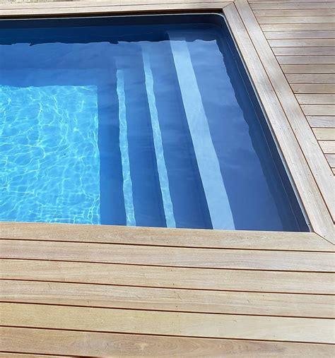 escaliers et plages pour piscine jce piscines