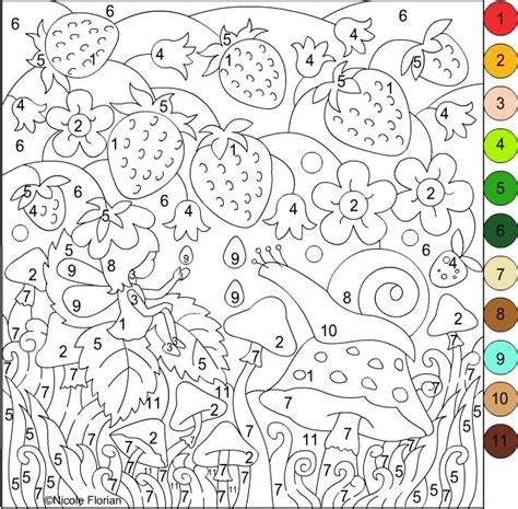 color by number adults s free coloring pages coloring pages